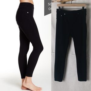 SPANX Cropped Denim Legging Black XL